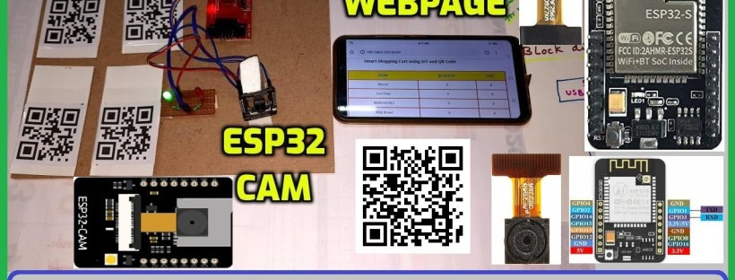 Smart Shopping Using QR Code and ESP32-CAM | IOT